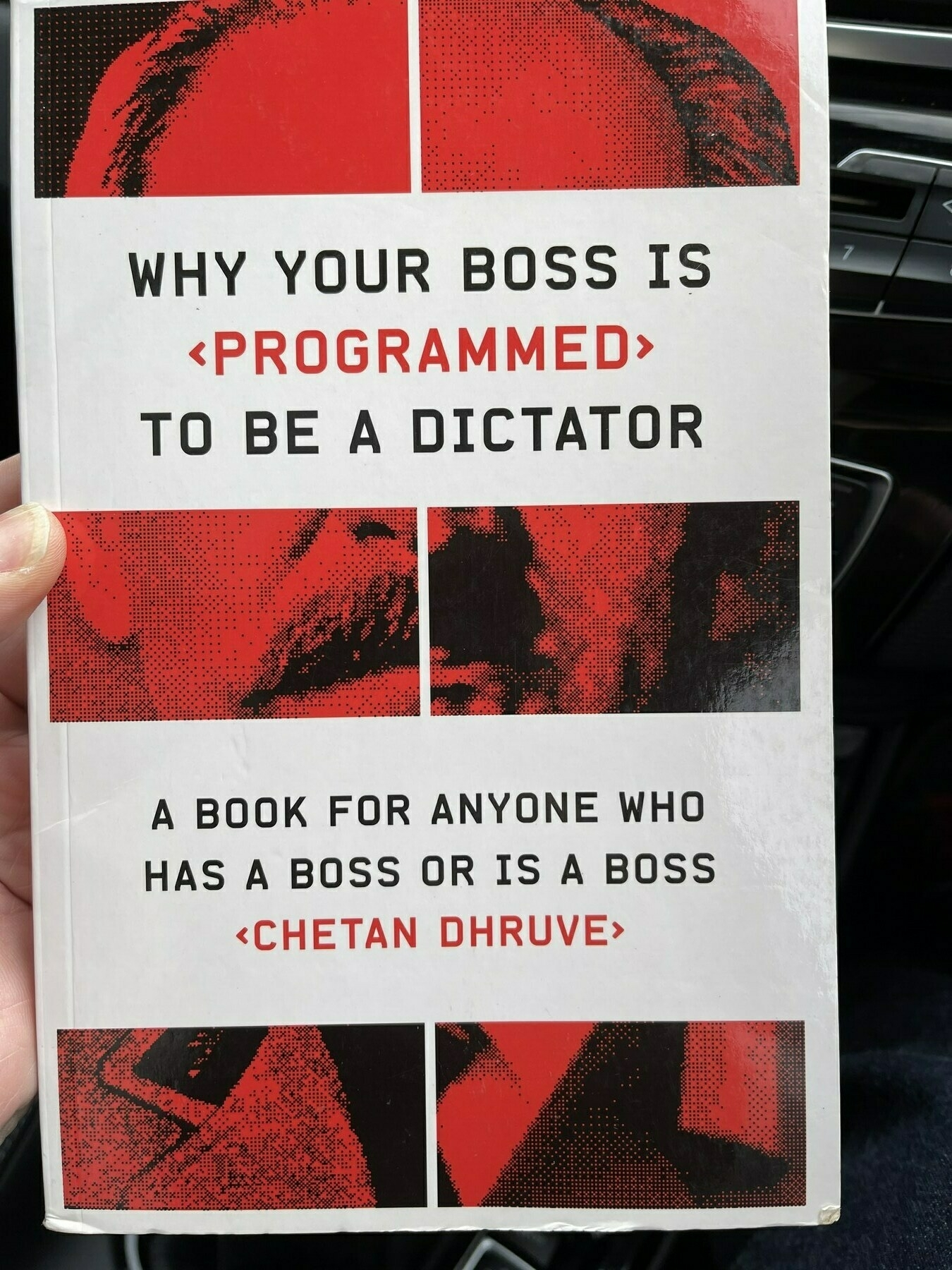 'Why your Boss is Programmed to be a Dictator' by @cvdhruve